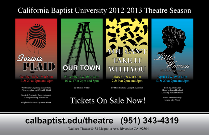 CBU Theatre Season 2012-2013